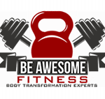 Be Awesome Fitness Logo mobile