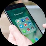 share social media phone
