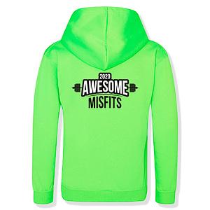 Green Hoodie Misfits
