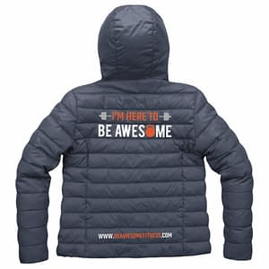 Be Awesome Fitness Jacket Front