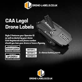 DRONE-LABLES UK STYLE 2 - UPDATED with Logos