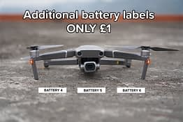 Drone Labels UK Battery