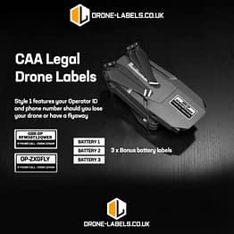 DRONE-LABLES UK STYLE 1 - UPDATED with Logos